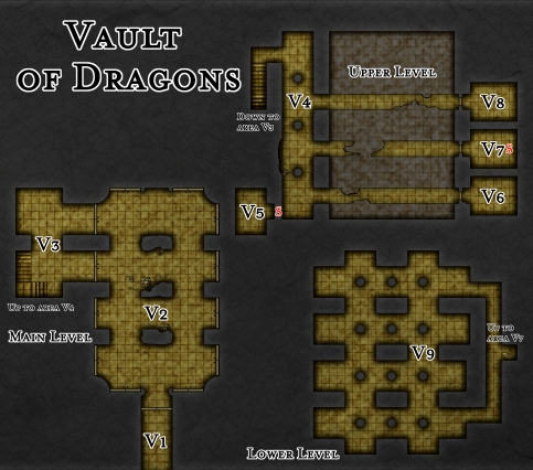 Chapter 4 - Vault of Dragons (DM's)