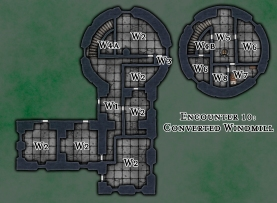 Encounter 10 - Converted Windmill 34x25 (DMs)