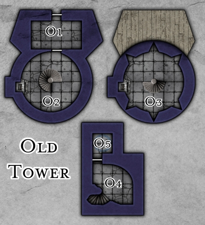 Chapter 4: Old Tower (DMs)