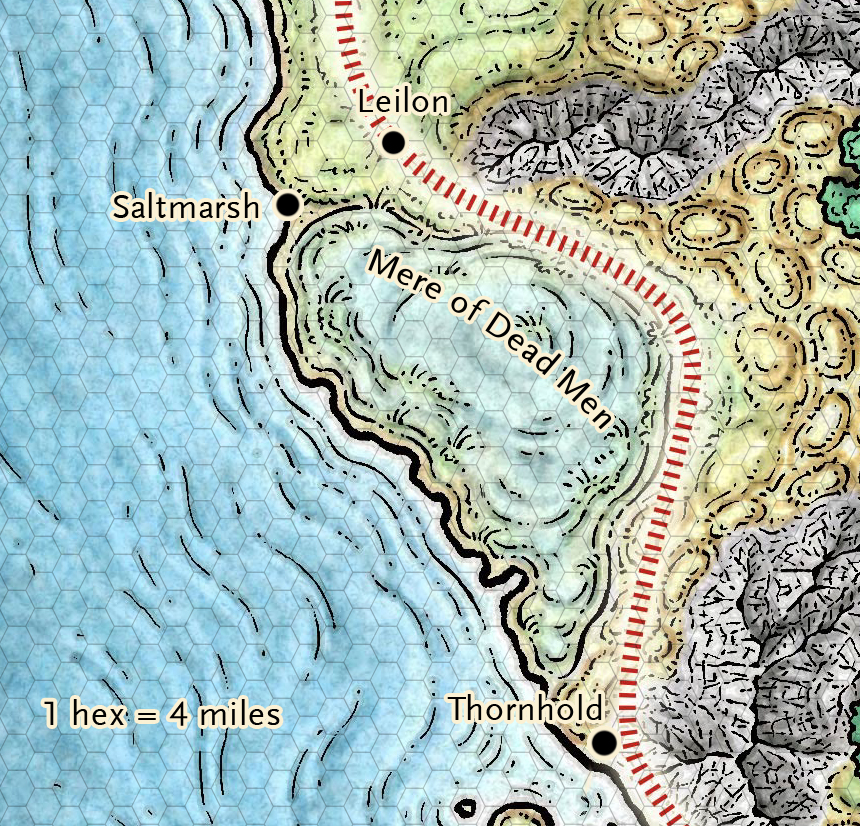 Ghosts of Saltmarsh in the Forgotten Realms (free maps!)