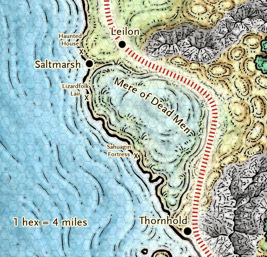 graphic relating to Storm King's Thunder Printable Maps named Ghosts of Saltmarsh within just the Neglected Realms (totally free maps