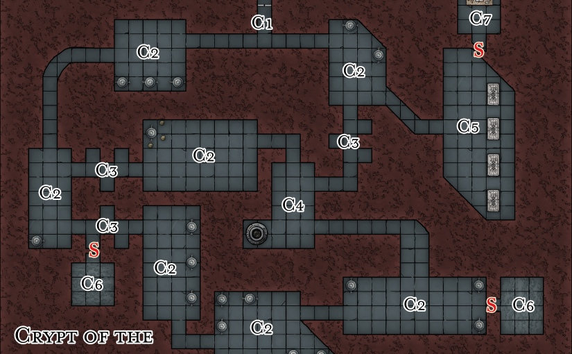 DM's resources for Chapter 3: Avernus out now (and a free map!)